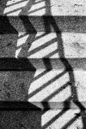 shadow on stairs, © Monika Andrae
