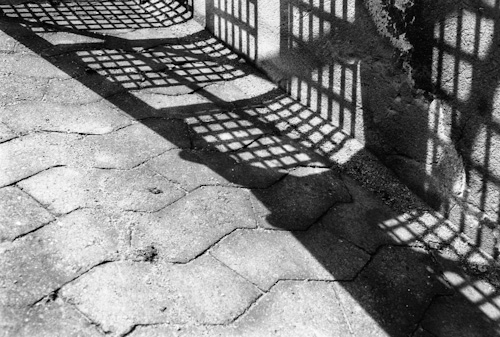 shadow grid, © Monika Andrae