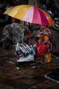 Regenschirme. Viele. © Monika Andrae