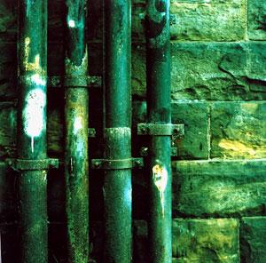 drainpipes, ©Monika Andrae (Yashicamat 124G, Rollei Crossbird)