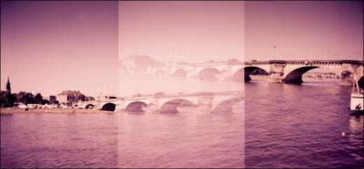 a bridge in the sky