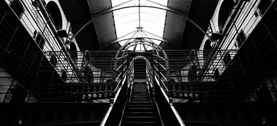 Symmetrie in einem Gefängnis in Dublin